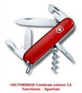 COUTEAU SUISSE 12 FONCTIONS SPARTAN.  VICTORINOX